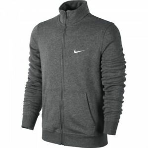 611468 Con Zip Uomo Grigio Full Melange Tasche Invernale 071 Felpa Nike 60wAgq