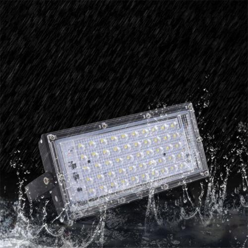 50W LED Floodlight Outdoor Light Security Wall Flood Lights Outside Garden Lamp