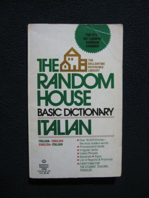 Random House Basic Dictionary - Italian Hall, Robert Anderson
