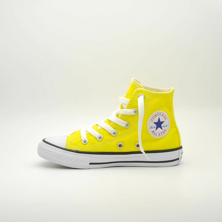 SCARPE BAMBINO 355738C CONVERSE CTAS HI YOUTH 355738C BAMBINO Fresh yellow 9de325