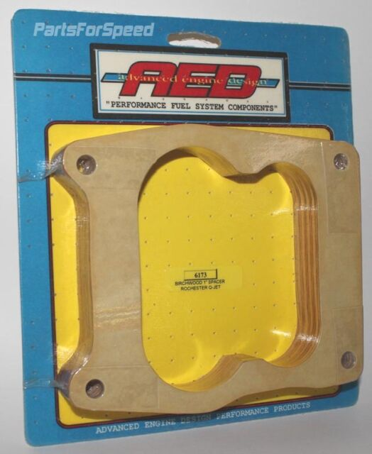 Rochester Q-Jet AED Performance Carburetor spacer 1//2 inch