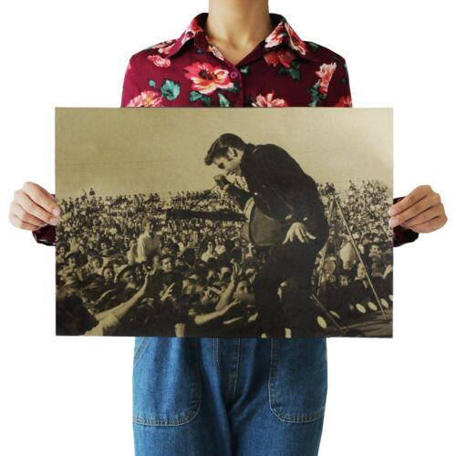 Living Room Decor Elvis Presley Rock Music poster cheap art prints