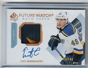 Ivan-Barbashev-2017-18-SP-authentic-Future-watch-Patch-auto-75-100