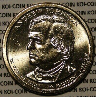 2010 P James Buchanon Presidential Series Dollar UNC MS Brilliant Uncirculated!
