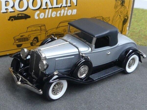 1 43 Brooklin Studebaker President converdeible roadster 1931