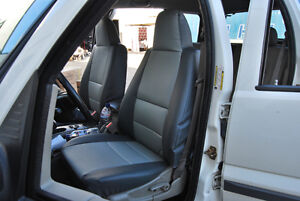Image Is Loading JEEP LIBERTY SPORT 2002 2013 IGGEE S LEATHER