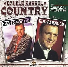 Double Barrel Country: The Legends of Country Music by Jim Reeves (CD, Apr-1998, Madacy)