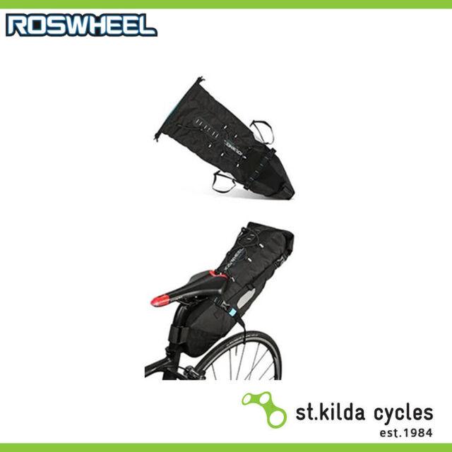 Roswheel Seat Bag - Bike Packing/Touring 3-10L Q/R - Waterproof - Large