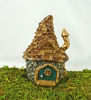 Dollhouse Miniature Fairy Garden Micro 1:96 Shingled Troll House, 3 Tall, 17558