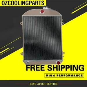 3-ROW-Aluminum-Radiator-For-FJ-HOLDEN-1948-1955-49-50-51-52-53-54-Mel