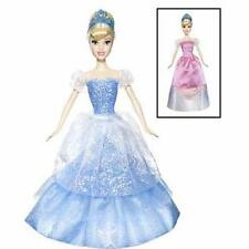 DISNEY PRINCESS 2 IN 1 BALLGOWN SURPRISE CINDERELLA DOLL - NEW