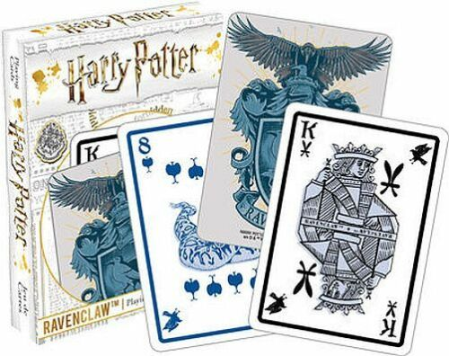 HARRY POTTER RAVENCLAW PLAYING CARD DECK 52 CARDS NEW 52441