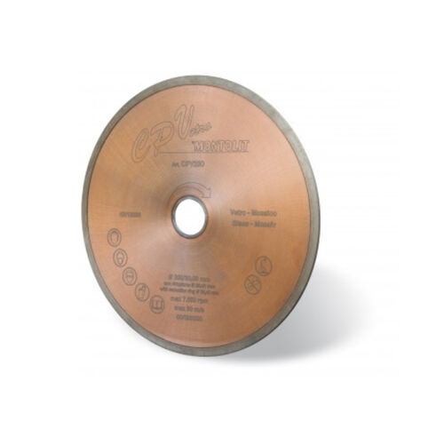 Montolit CPV Diamond Blade For Glass Continuous Glass Cutting Disc