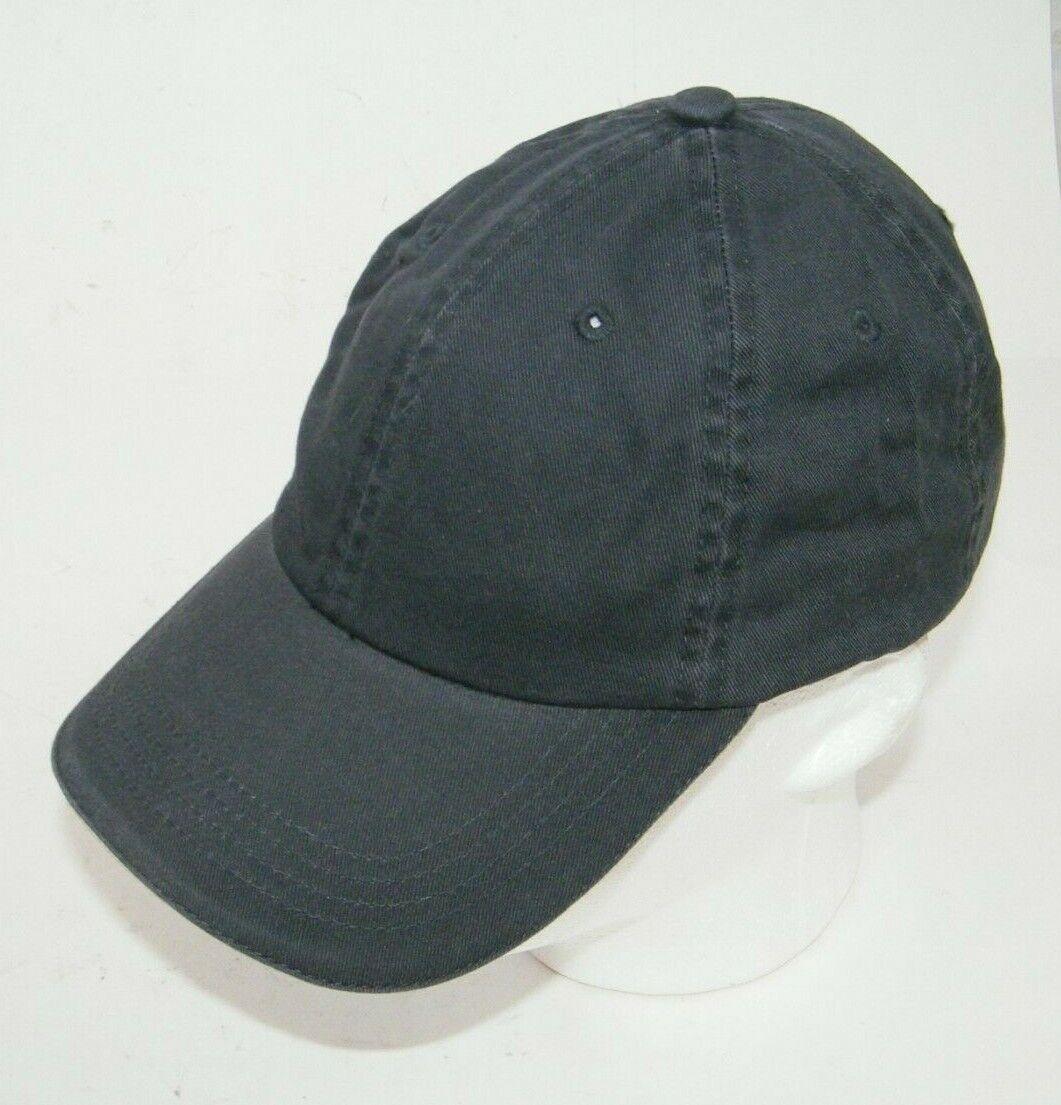 (14) PORT AUTHORITY CHARCOAL WITH WHITE STRIPE CLOSURE C830 SANDWICH BILL CAP
