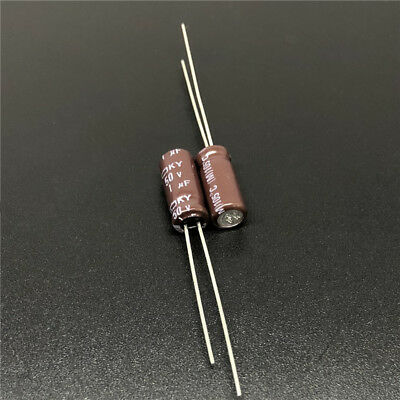 30PCS Radial Electrolytic Capacitor 50V 1UF 5x11mm NEW