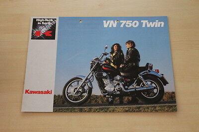 Kawasaki Vn 750 Twin Prospekt 198 Sophisticated Technologies Responsible 167138