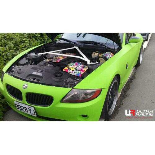 ULTRA RACING 3-POINT FRONT STRUT TOWER BAR BRACE FOR BMW E85 Z4 2.5 3.0 /'02-/'08