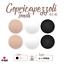 Copricapezzoli-Sottile-in-Silicone-Adesivo-Riutilizzabile-Coppia-copri-Capezzoli miniatura 1