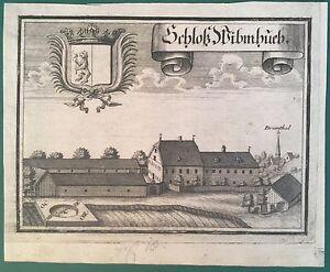 Kupferstich-SCHLOSS-WIMHUB-St-Veit-Innkreis-Oberoesterreich-Michael-Wening-1721