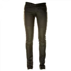 Draggin-Jeans-Slix-Womens-Black-Roomoto-MR7-Motorcycle-Trousers-New
