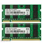 New 4GB Kit 2x2GB PC2-5300 DDR2-667MHz 200Pin SODIMM Laptop Notebook Memory 1.8V