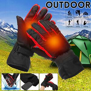 Guanti-riscaldati-elettrici-Mani-Warm-Inverno-Batteria-ricaricabile-Impermeabile