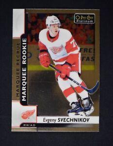 2017-18-17-18-O-Pee-Chee-OPC-Platinum-Marquee-Rookie-158-Evgeny-Svechnikov-RC
