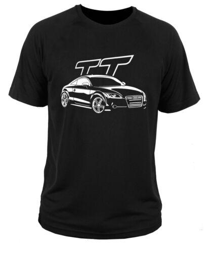 T Shirt T-shirt two-tone QUATTRO Audi Turbo