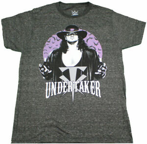 New-WWE-The-Undertaker-Bats-Vintage-Legends-WWF-Men-039-s-Graphic-Licensed-T-Shirt