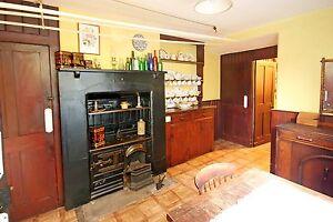 antique victorian cast iron kitchen cooking range fireplace hob ebay
