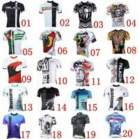 2016 Mens Cycling Jersey Tee T-shirt Shirt Riding Top Road Bike Team Sports Wear