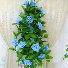2.6M Home Silk Flowers Garland Artificial Vine Ivy Home Wedding Garden Decors LX