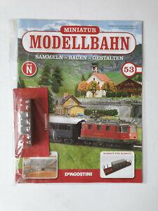 DeAgostini-miniatura-modello-ferroviario-Traccia-N-N-53-con-Libretto-Nuovo-Scatola-Originale