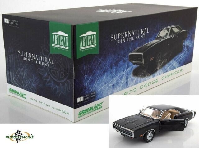 Dodge Charger Supernatural Join The Hunt 1970 Movie 1:18 Greenlight