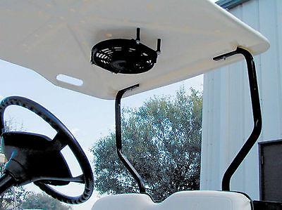 Universal Gas Electric Yamaha Club Car Golf Cart Roof Top Fan w/ Switch & Wiring