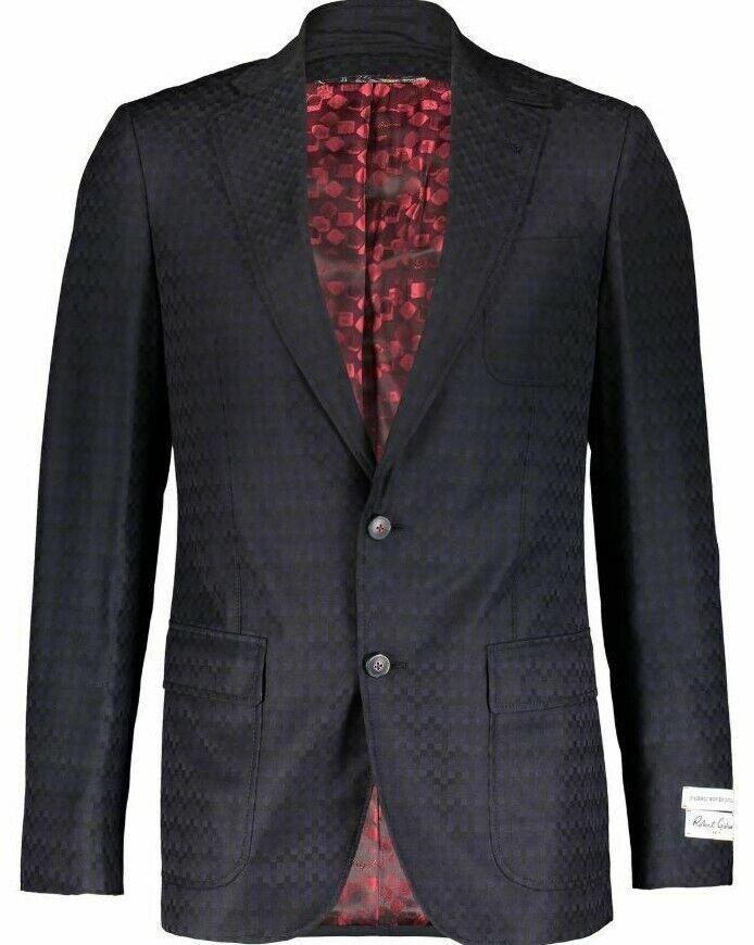 Robert Graham men's 100% Wool blazer size 38R - Italian Fabric RRP
