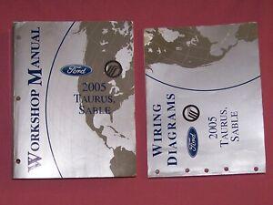 2005 Ford Taurus Mercury Sable Factory Service Repair ...
