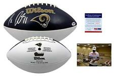 Tavon Austin SIGNED St. Louis Rams Football - PSA/DNA Autographed w/ Photo