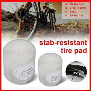 2PCS Bicycle Inner Tubes Explosion-proof Lining Tire Pad For 700C H5K9