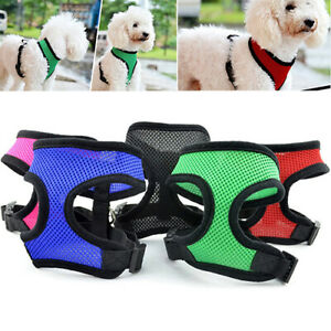 Pet-Cat-Puppy-Dog-Control-Harness-Set-Mesh-Vest-Walk-Collar-Safety