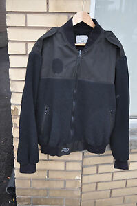 CANADIAN-Navy-Sea-Cadats-FLEECE-Shirt-Coat-Liner-Size-7048-Extra-Large-Black