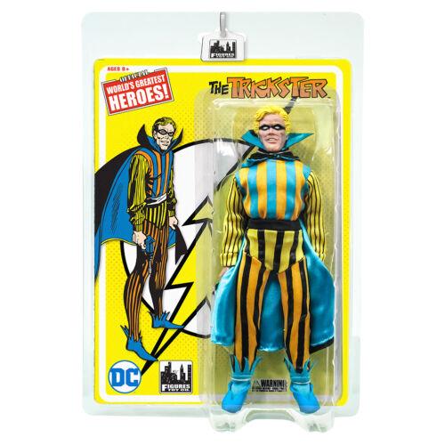 DC Comics Flash Series Retro Style 8 Inch Trickster Action Figure