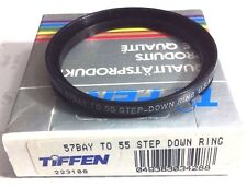 TIFFEN B57-55mm BAY 57 TO 55mm STEP DOWN RING FOR HASSELBLAD LENSES B57-55mm
