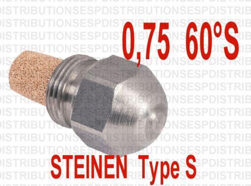gicleur STEINEN 0.75  60° S fioul oil burner nozzle S-13725 ACF