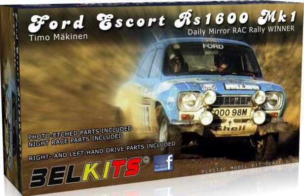 Belkits 1 24 Ford Escort Rs 1600 Mk I Timo Makinen