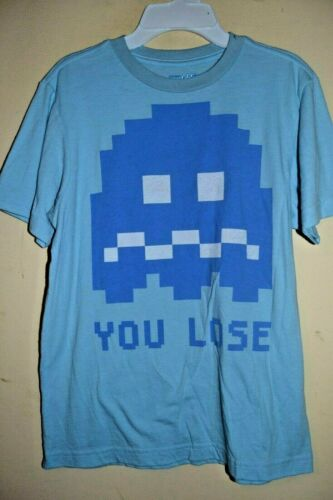 -OLD NAVY-LICENSED SHORT SLEEVE-NWOT PACMAN CHARACTER//YOU LOSE-!-BOYS SIZE M 8