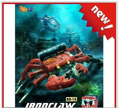 New 52Toys BEASTBOX BB-18 BB18 Ironclaw Action Figure Toy in stock