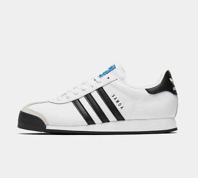 Adidas ORIGINALS Mens SAMOA White & Black Trainers Shoes / Size 11 UK / NEW | eBay