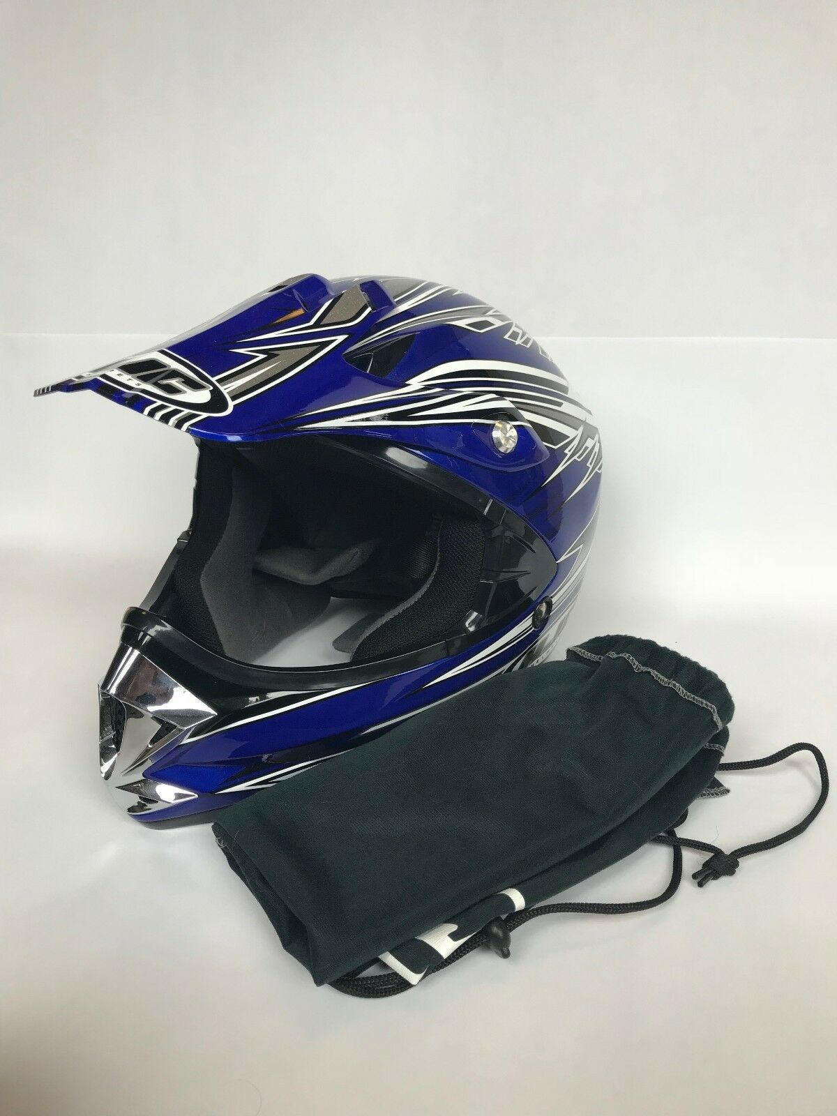 Motorcycle 4-Wheeler Helmet YOUTH MEDIUM (HJC Arena CL-X5Y)