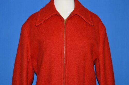 vintage 60s SOO WOOLEN MILLS RED BELT BACK WOMEN'S